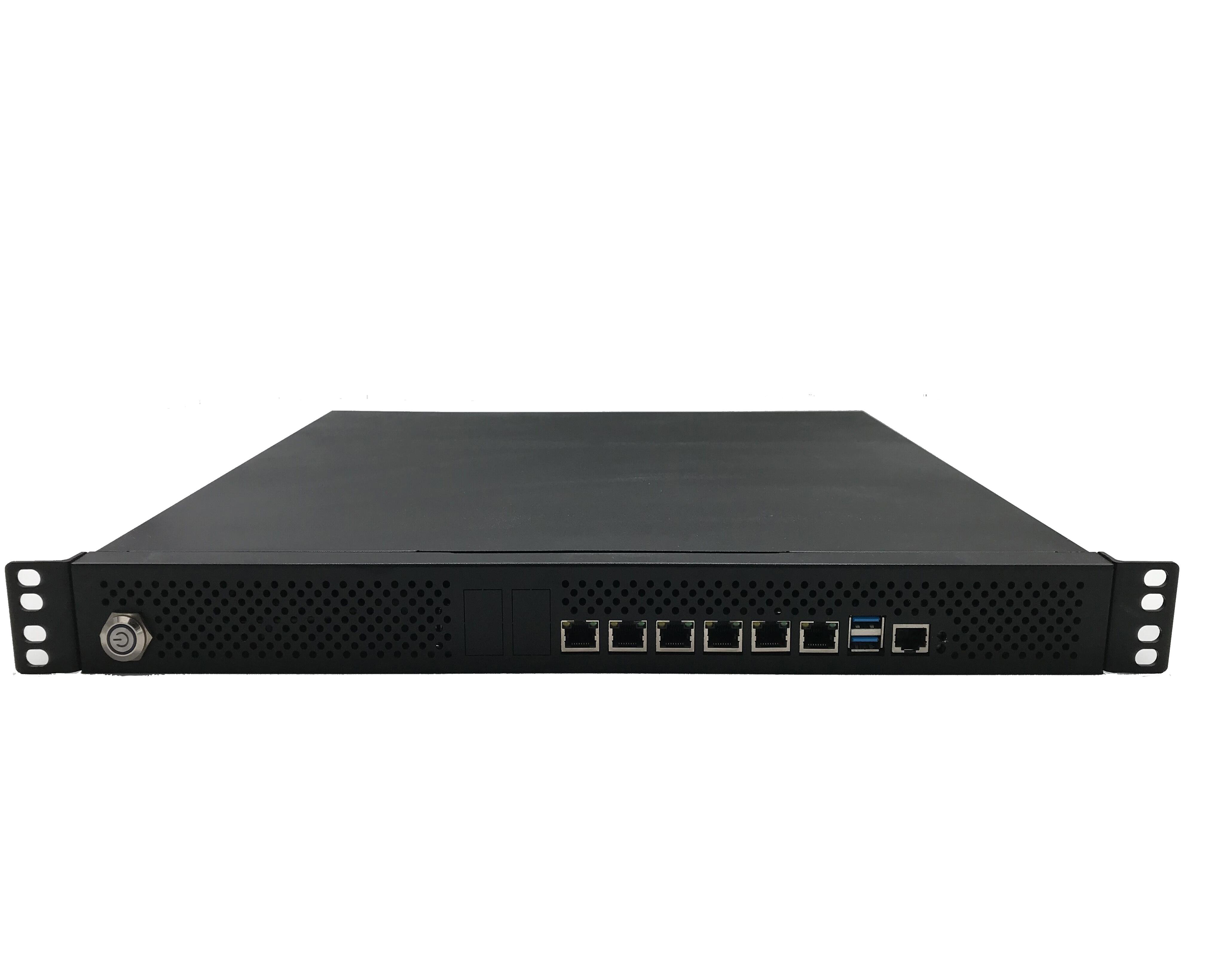Intel Core i7/i5/i3, Xeon 1200 v5/v6 1U Rackmount Network